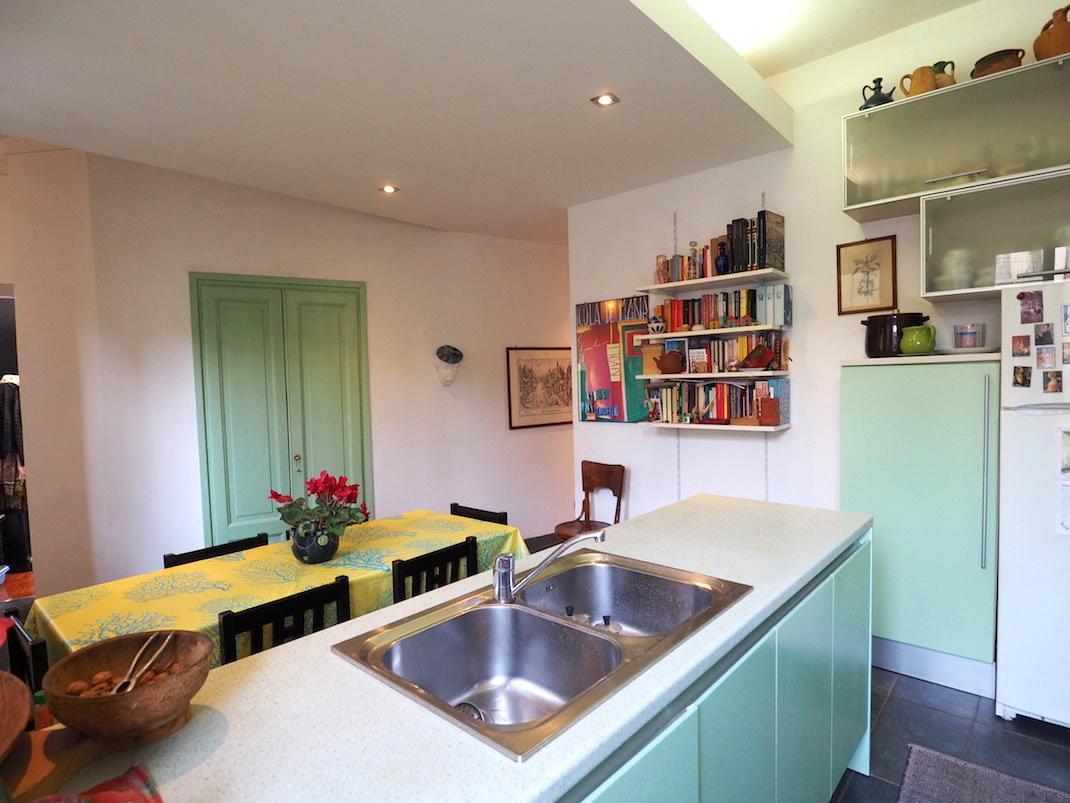 La cucina verde menta - Immobiliare Marangoni